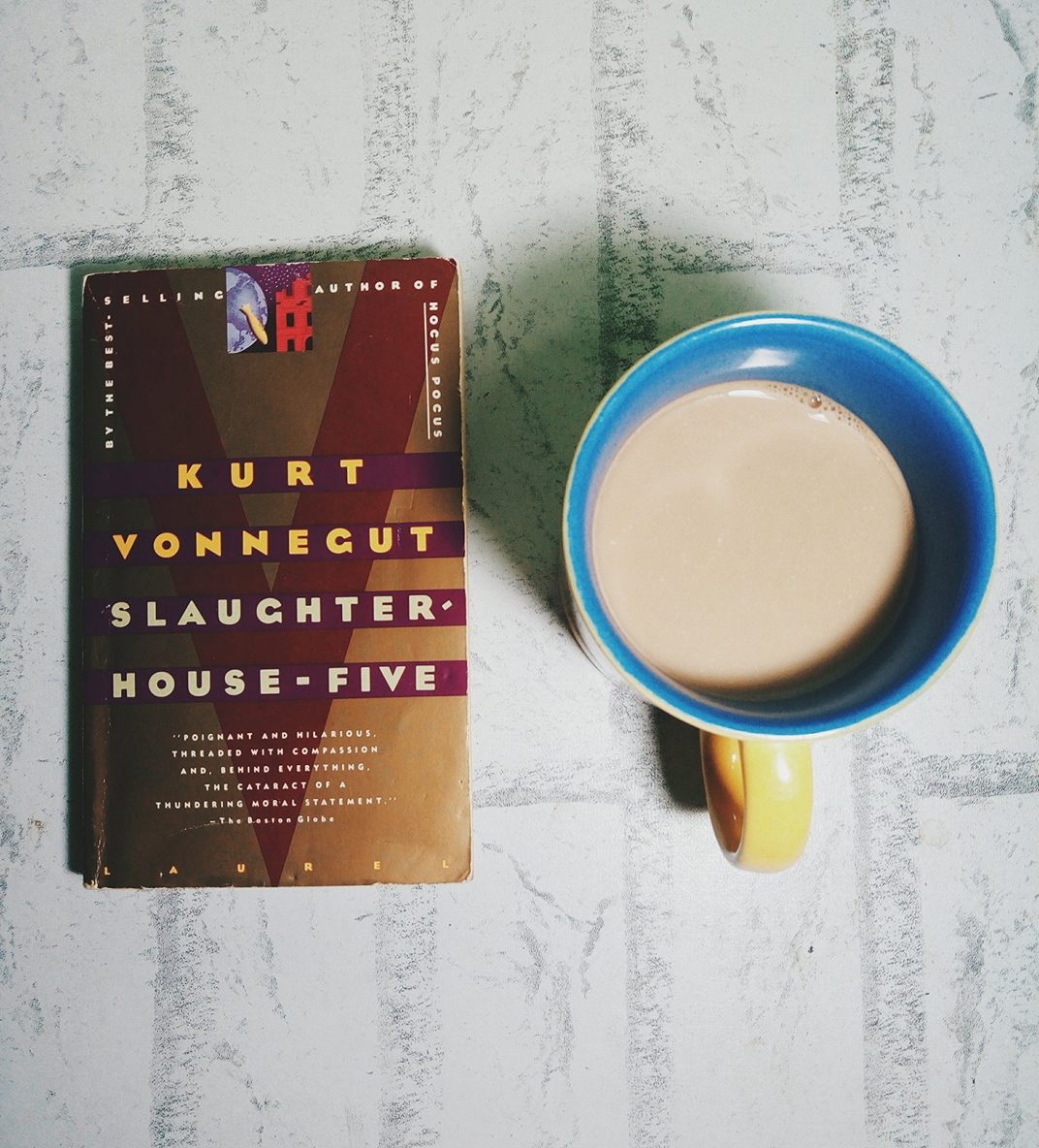 critical book review of slaughterhouse five Slaughterhouse-five is an anti-war book, the reader may have difficulty pinpointing the specific passages that make it so since billy pilgrim's story is the focus, and many disregard.